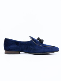 Men Blue Troy Slip On Shoes