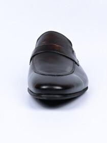 Men Dark Brown Premium Penny Loafer