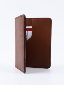 Executive Leather Card Holder Tan