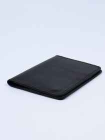 Executive Leather Card Holder Black