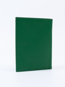Executive Leather Passport Holder Green