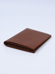 Executive Leather Passport Holder Tan