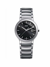 Centrix Black Dial Stainless Steel Unisex Watch