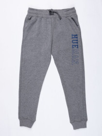 Big Boys Medium Grey Terry Slim Joggers