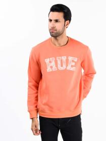 Orange Fleece Men's Sweatshirt