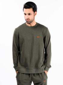 Olive Terry Men's Sweatshirt