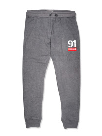 Men Terry Slim Joggers / Trainer Trouser Medium Grey