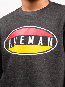 Big Boy Charcoal Terry Sweatshirt