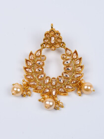Ritzy Gold Plated Necklace Set for Women
