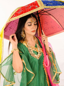 Dazzling Mehndi & Wedding Umbrella