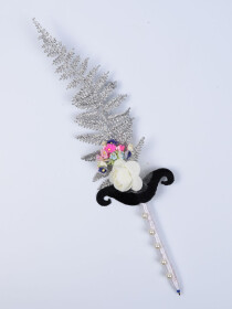 Multi Flowers Bunch Nikah Signature Pen