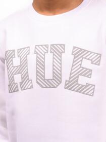 Big Boy White Fleece Sweatshirt