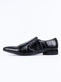 Handmade  Men Formal Black Leather Shoes