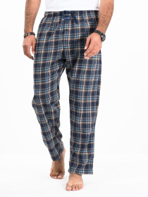 Flannel Plaid Black/White Relaxed Winter Pajama