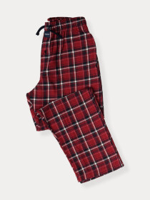 Flannel Plaid Red/White Relaxed Winter Pajama