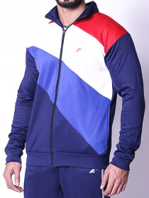 FIREOX Jacket, Blue White Red
