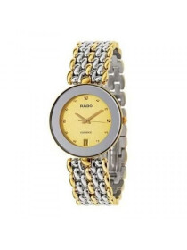 Men's Florence Quartz Watch Gold Colour Dial