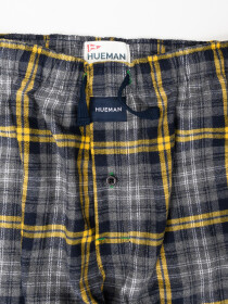 Men's Navy & Grey Flannel Relaxed Pajama - Pack of 2