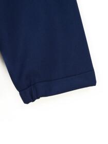 Navy Blue Stand Up Collar Soft Shell Big Boy Jacket