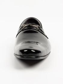 Men's Genuine Black Handmade Leather Shoes