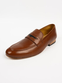 Men's Leather Handmade Shoes Genuine Brown