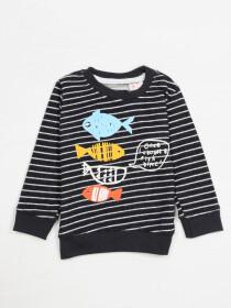FISH PRINTED SWEAT SHIRT FOR BOYS-10286