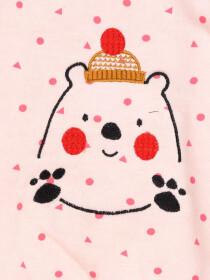 HAPPY BEAR SWEAT SHIRT FOR GIRLS-10287
