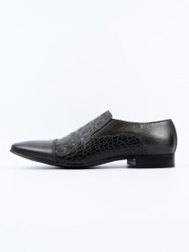 Antique Penny Loafer Men's Shoe Grey