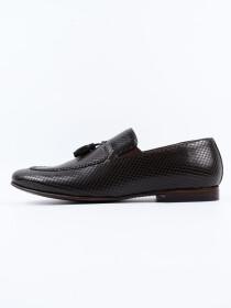 Antique Penny Loafer Men's Shoe Brown