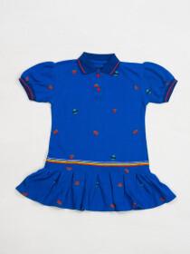 WATERMELON POLO DRESS FOR GIRLS-10139