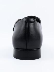 Men's Leather Double Monk Wingtip Dress Shoe