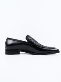 Men'sFormal Leather Black Dress Shoes