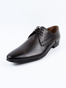 Men's Formal Leather Brown Dress Shoes