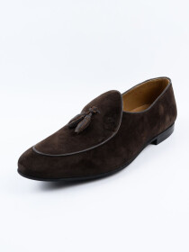 Men's  Moc-Toe Slip-on Penny Loafer