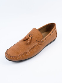 Tan Relaxed FitLoafer Men's Shoe