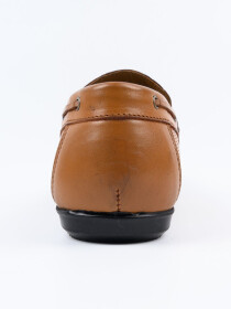 Tan Relaxed Fit Loafer Men's Shoe