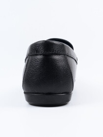 Black Relaxed FitLoafer Men's Shoe