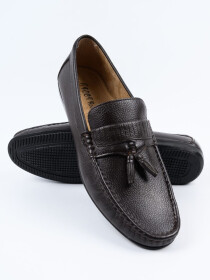 Brown Relaxed Fit Loafer Men's Shoe