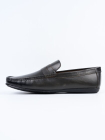 Grey Relaxed Fit Loafer Men's Shoe