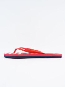 Men Red & Blue Comfort Flip Flop