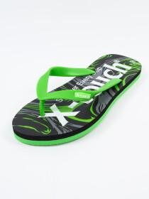 Men Green & Black Comfort Flip Flop