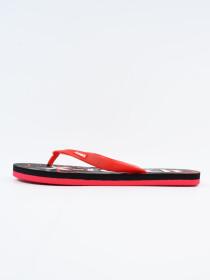 Men Red & Black Comfort Flip Flop
