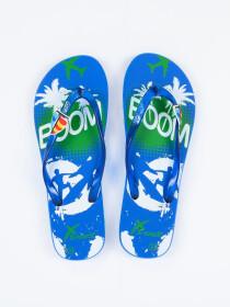 Women Blue & White Comfort Flip Flop