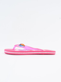 Women Pink & White Comfort Flip Flop