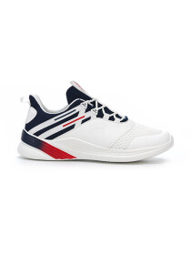 Men's Running Shoes WHT-NVY