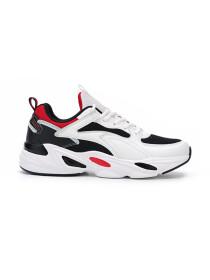 Men's Running Shoes WHT-BLK