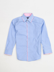 CASUAL CHAMBARY SHIRT FOR BOYS-10415