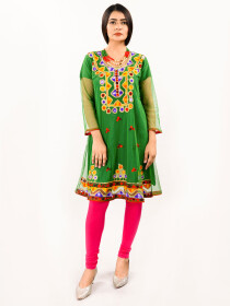 Stitched Embroidered  Stylish Top