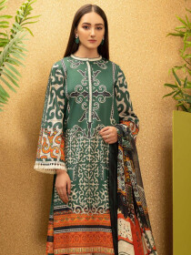 Zinc Printed Cambric Unstitched 2 Piece Suit for Women