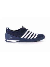 Men's Navy Blue & White Lifestyle Sports shoes